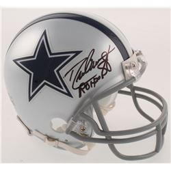 """Drew Pearson Signed Dallas Cowboys Mini Helmet Inscribed """"ROH 2011"""" (JSA COA)"""