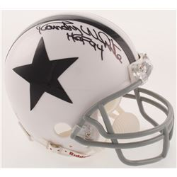 "Randy White Signed Dallas Cowboys Mini Helmet Inscribed ""HOF 94"" (JSA COA)"