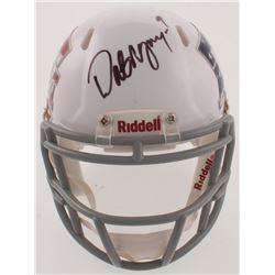"Dat Nguyen Signed Texas AM Aggies ""American Flag"" Speed Mini Helmet (JSA COA)"