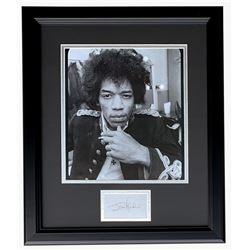 Jimi Hendrix 16x19 Custom Framed Photo Display