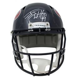 J.J. Watt Signed Houston Texans Full-Size Helmet (JSA COA)