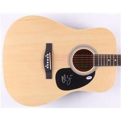 Elle King Signed Acoustic Guitar (PSA COA)