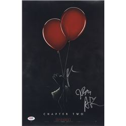 """Bill Hader, James Ransone,  Andy Bean Signed """"IT Chapter Two"""" 12x18 Movie Poster Print (PSA LOA)"""