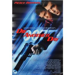 """James Bond """"Die Another Day"""" 27x40 Poster Signed by (4) with Pierce Brosnan, Toby Stephens, Rosamund"""
