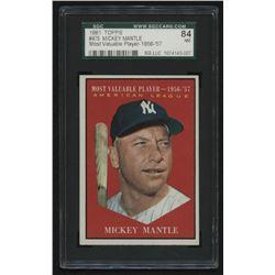 1961 Topps #475 Mickey Mantle MVP (SGC 7)