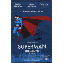 "Richard Donner Signed ""Superman"" 11x17 Movie Poster Print (PSA COA)"