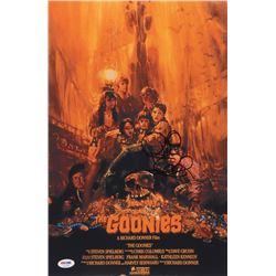 Richard Donner Signed The Goonies 11x17 Movie Poster Print (PSA COA)