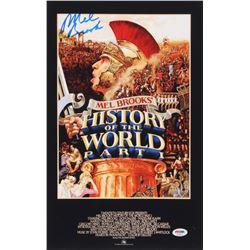 "Mel Brooks Signed ""History of the World, Part I"" 11x17 Movie Poster Print (PSA COA)"