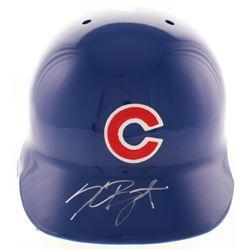 Kris Bryant Signed Chicago Cubs Authentic Full-Size Batting Helmet (JSA LOA)