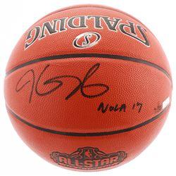 "Kevin Durant Signed LE 2017 NBA All-Star Game Ball Series Basketball Inscribed ""Nola 17"" (Panini COA"
