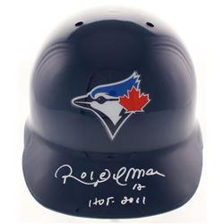 "Roberto Alomar Signed Toronto Blue Jays Authentic Full-Size Batting Helmet Inscribed ""HOF 2011"" (Bec"