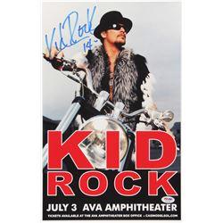"Kid Rock Signed 11x17 Poster Print Inscribed ""14"" (PSA COA)"