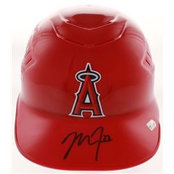 Mike Trout Signed Los Angeles Angels Authentic Full-Size Batting Helmet (MLB Hologram)