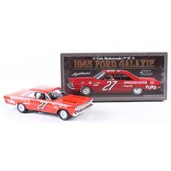 Cale Yarborough Signed NASCAR #27 1965 Ford Galaxie 1:24 Premium Diecast Car (PA COA)