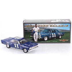 Ned Jarrett Signed NASCAR #11 1965 Ford Galaxie 1:24 Premium Diecast Car (PA COA)