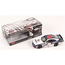 William Byron Signed 2017 NASCAR #9 Liberty University - Indy Win - Raced Version - 1:24 Premium Act