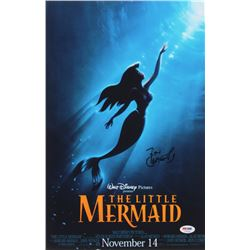 """Ron Clements Signed 11x17 """"The Little Mermaid"""" Poster Print (PSA COA)"""