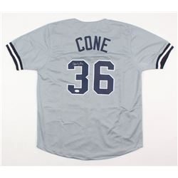 David Cone Signed Jersey (JSA COA)