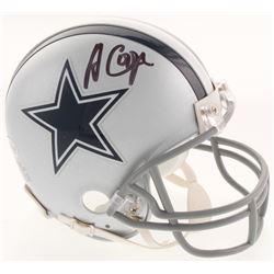 Amari Cooper Signed Dallas Cowboys Mini Helmet (Beckett COA)