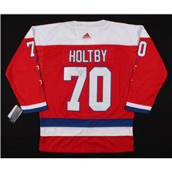 Braden Holtby Signed Washington Capitals Jersey (JSA COA)