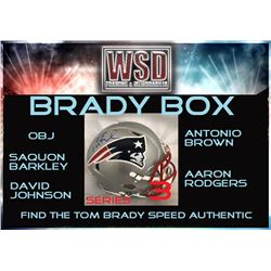 "WSD ""Brady Box"" Series 3 Mystery Helmet Box - Autographed Football Helmet Series"