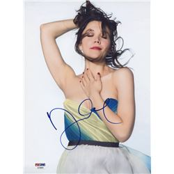 Maggie Gyllenhaal Signed 8.5x11 Photo (PSA COA)
