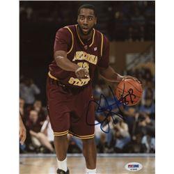 James Harden Signed Arizona State Sun Devils 8x10 Photo (PSA COA)