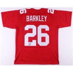 Saquon Barkley Signed Jersey (PSA COA)