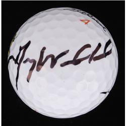 Gary Woodland Signed Masters Logo Golf Ball (Beckett COA)