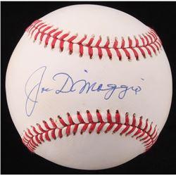 Joe DiMaggio Signed OAL Baseball (JSA LOA)
