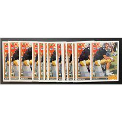 Lot of (15) 1991 Upper Deck #13 Brett Favre RC