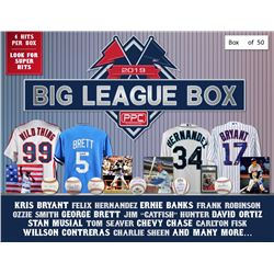 Press Pass Collectibles 2019 Big League MLB Mystery Box – Series 1 (Limited to 50)