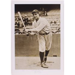 """Historical Photo Archive - Lou Gehrig """"First Day On The Job"""" Limited Edition 16x22.5 Fine Art Giclee"""