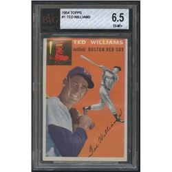 1954 Topps #1 Ted Williams (BVG 6.5)