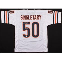 "Mike Singletary Signed Jersey Inscribed ""HOF 98"" (JSA COA)"