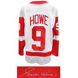 Gordie Howe Signed Detroit Red Wings Jersey (Schwartz COA)