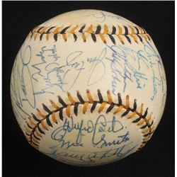 1994 National League All-Star Game Baseball Team-Signed by (32) with Barry Bonds, Ozzie Smith, Jeff