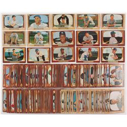 Complete Set of (320) 1955 Bowman Baseball Cards with #1 Hoyt Wilhelm, #10 Phil Rizzuto, #23 Al Kali