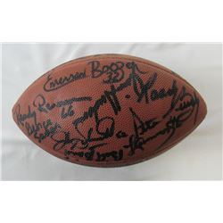 1968 New York Jets NFL Football Team-Signed by (26) with Joe Namath, Don Maynard, Matt Snell, George
