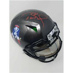 Tom Brady Signed New England Patriots Limited Edition Throwback Full-Size Authentic On-Field Hydro-D