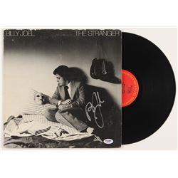 """Billy Joel Signed """"The Stranger"""" Vinyl Album (PSA COA)"""