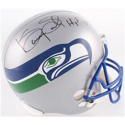 """Kenny Easley Signed Seattle Seahawks Full-Size Helmet Inscribed """"HOF '17"""" (JSA COA)"""