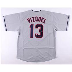 "Omar Vizquel Signed Jersey Inscribed ""11x GG""  ""3x All Star"" (PSA COA)"