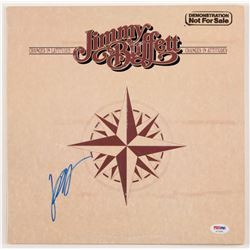 """Jimmy Buffett Signed """"Changes in Latitudes, Changes in Attitudes"""" Vinyl Record Album Cover (PSA COA)"""