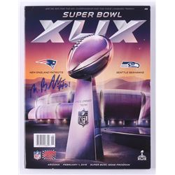 Malcolm Butler Signed Super Bowl XLIX Program (Your Sports Memorabilia Store COA)