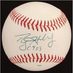"Roy Halladay Signed Baseball Inscribed ""CY '03"" (Beckett LOA)"