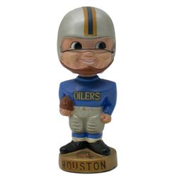 Vintage 1960's Houston Oilers Gold Base Bobblehead