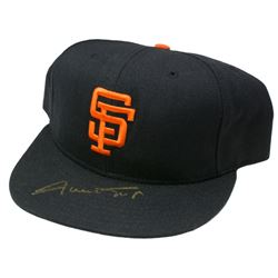 Willie Mays Signed San Francisco Giants Hat (PSA COA)