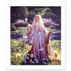 "Greg Hildebrandt Signed ""The Gift Of Galadriel"" Limited Edition 22x26 Giclee on Canvas"