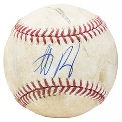 Anthony Rizzo Signed Game-Used OML Baseball (JSA Hologram  MLB Hologram)